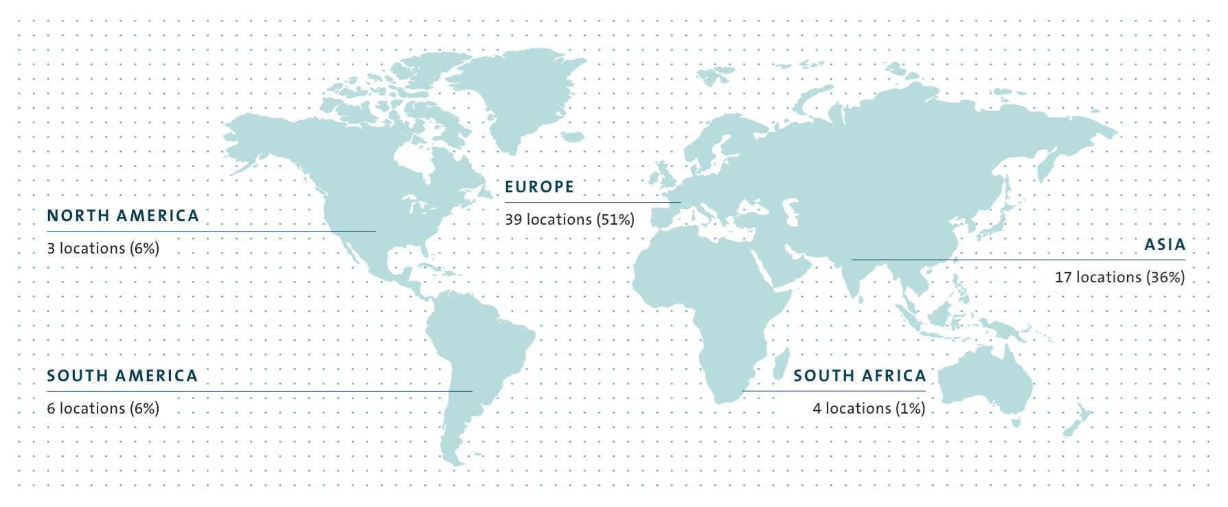 Vehicle Production Locations Of The Volkswagen Group Map