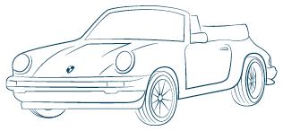 Electric cabriolet hood assistant (graphic)